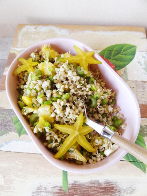 Salade de sarrasin, celeri & carambole